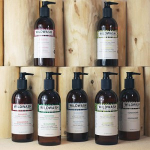 Wildwash grooming products product range